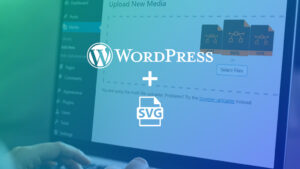 come caricare file svg in wordpress